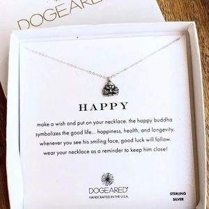 NWT - DOGEARED SS Happy Buddha Necklace